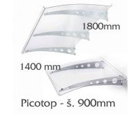 Vchodová stříška Polymer, Picotop 1800x900mm