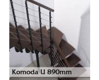 Lomené schodiště Komoda 89U