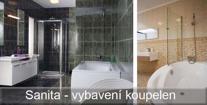 Široký výběr sanitárního vybavení.
