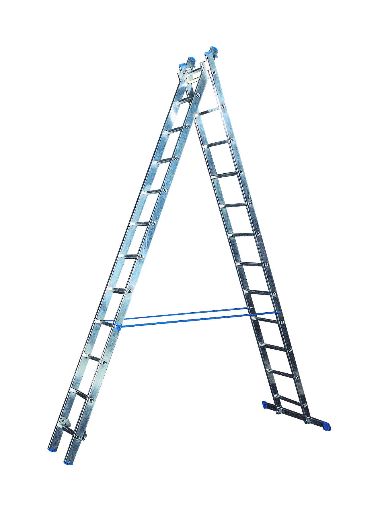 Žebřík hliníkový víceučelový HOBBY VHR H 2x7 Al