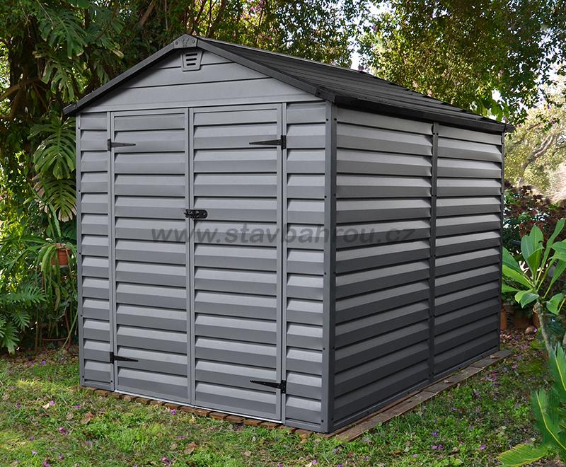 Zahradní domek SkyLight 6x8 (4,51m2) šedý