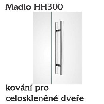 Madlo HH300 pro skleněné dveře