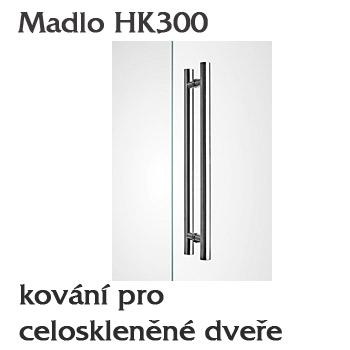 Madlo HK300 pro skleněné dveře