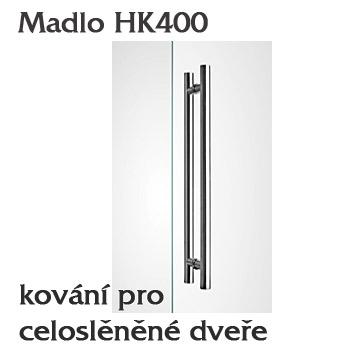 Madlo HK400 pro skleněné dveře