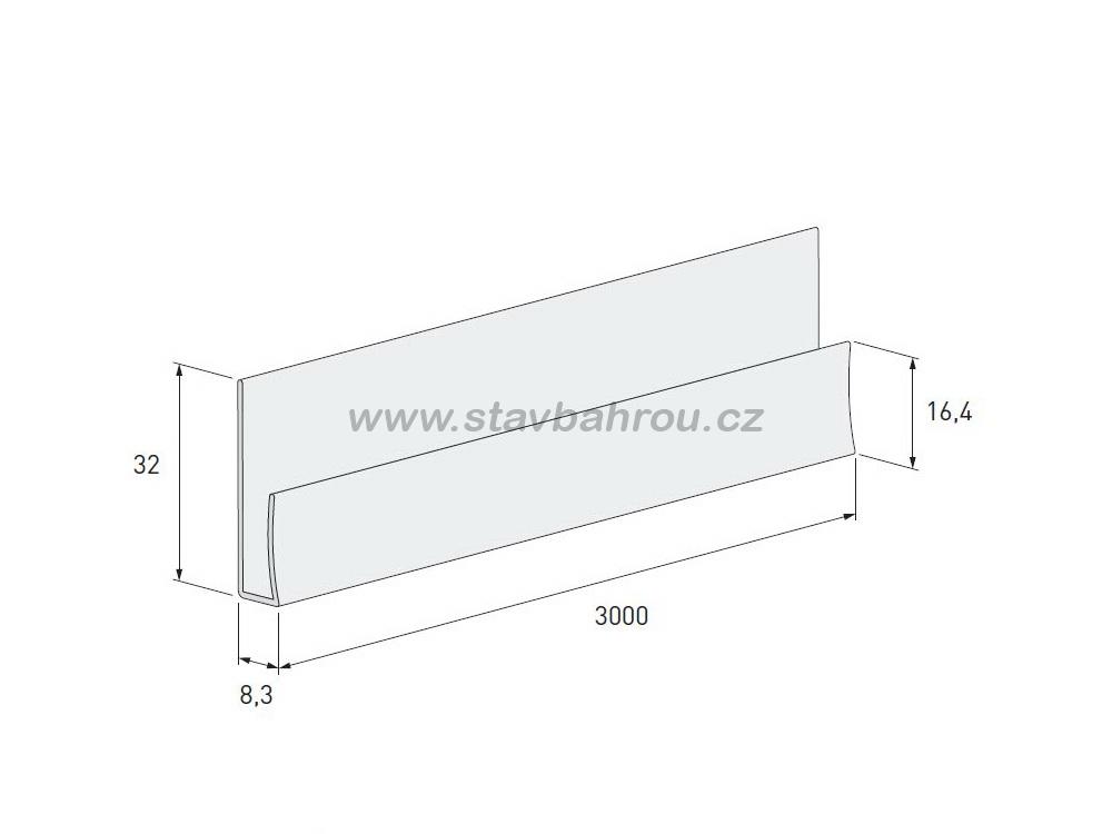 Zakládací profil Solid Stone SS109