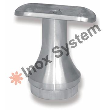 Zábradlí - Držák madla sloupku konický pevný nerez AISI 304