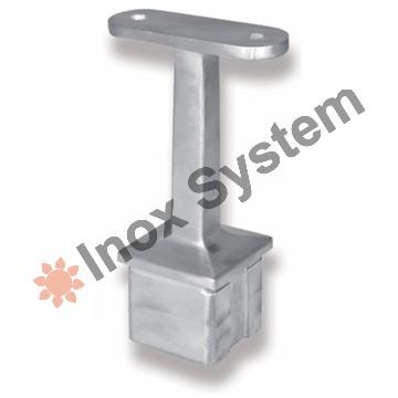 Zábradlí - Držák madla sloupku do jeklu pevný nerez AISI 304