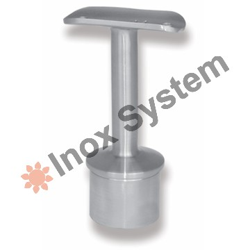 Zábradlí - Držák madla sloupku s tyčovinou pevný nerez AISI 304