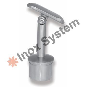 Zábradlí - Držák madla sloupku s tyčovinou kloubový nerez AISI 304