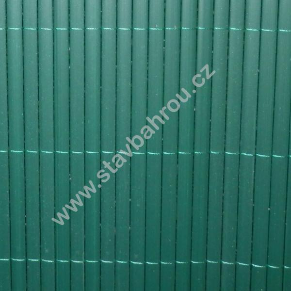 Bambusová rohož zelená výška role 2m