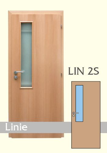 Interiérové dveře laminované Linie 2S