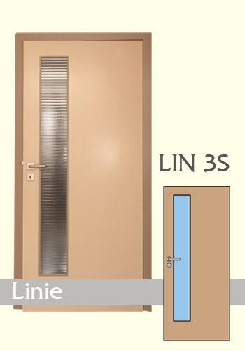Interiérové dveře laminované Linie 3S