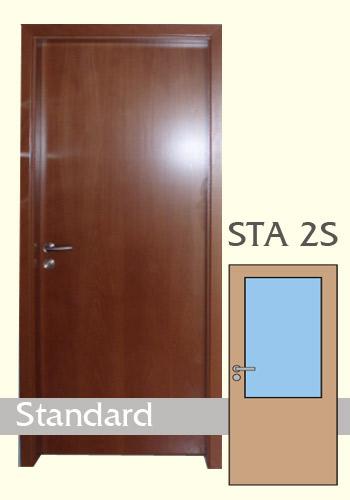 Interiérové dveře laminované Standard 2S