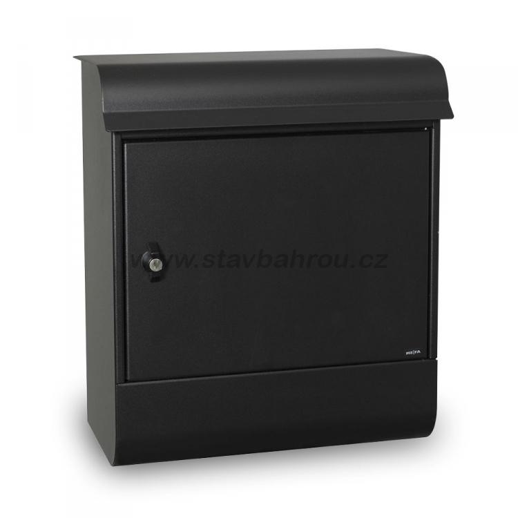 Poštovní schránka Magnum černá
