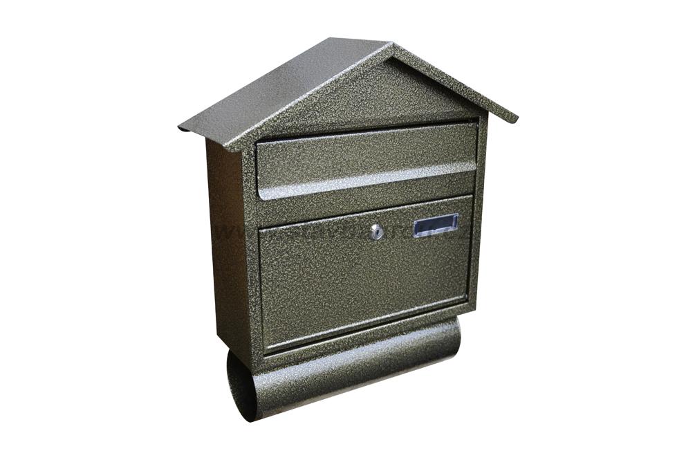 Poštovní schránka RD-3T zlatý antik