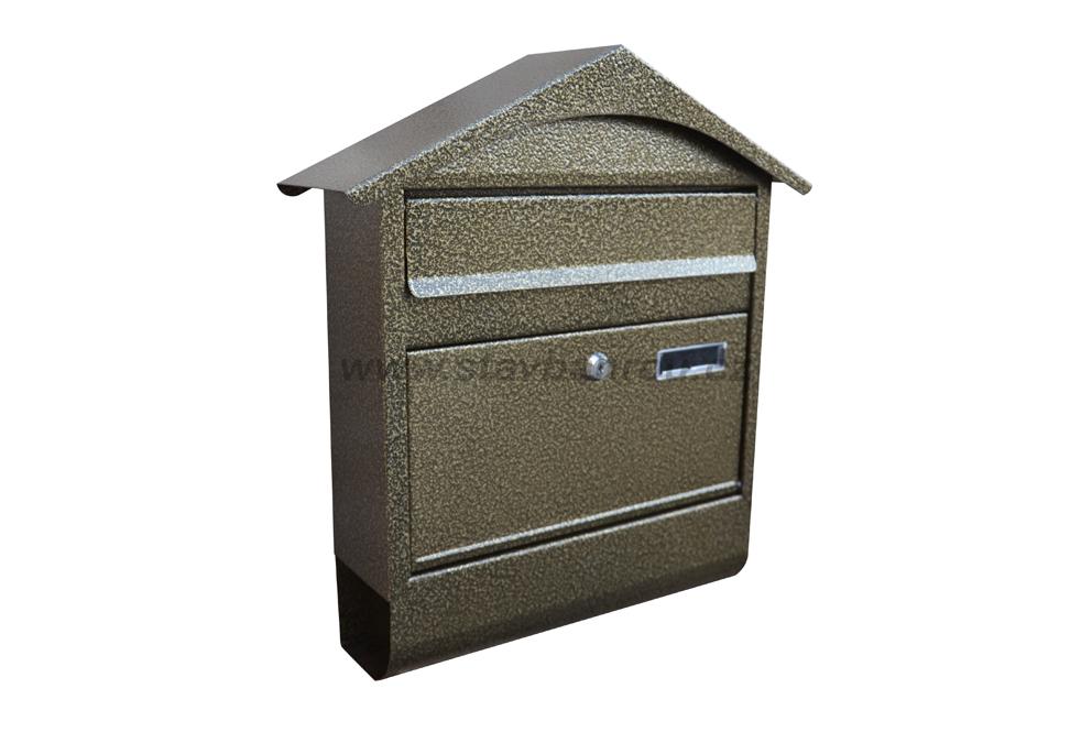 Poštovní schránka RD-4T zlatý antik