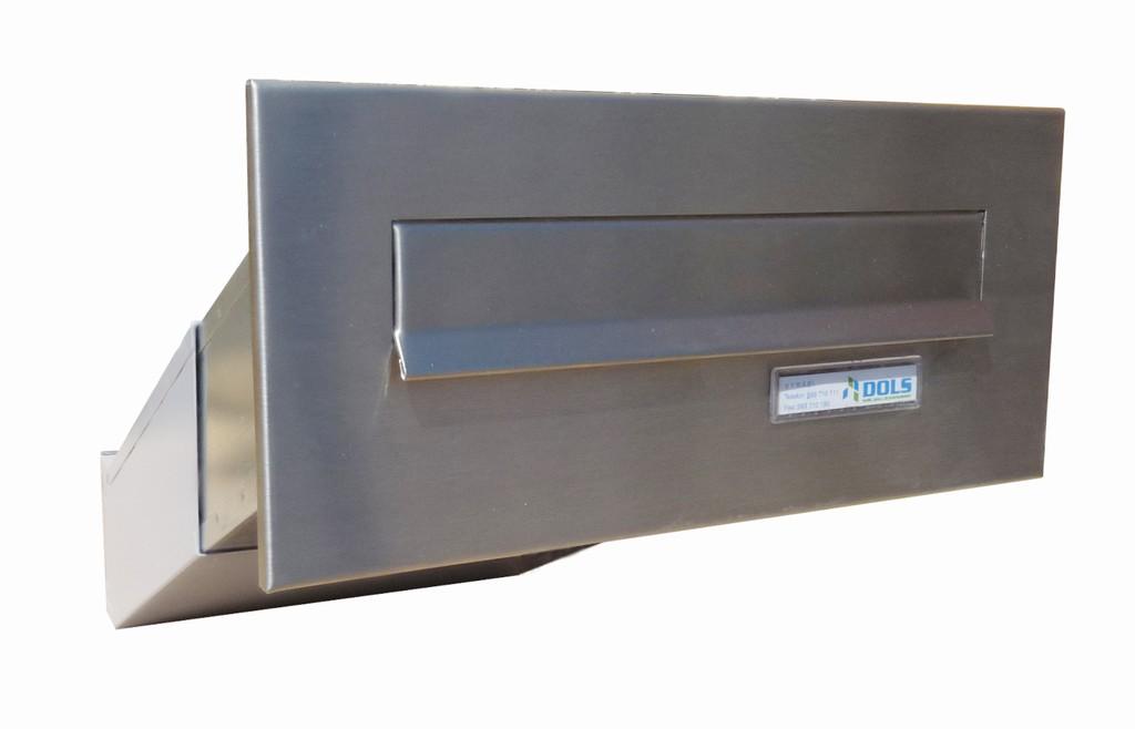 Poštovní schránka nerez do sloupku D 042