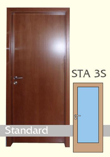 Interiérové dveře laminované Standard 3S