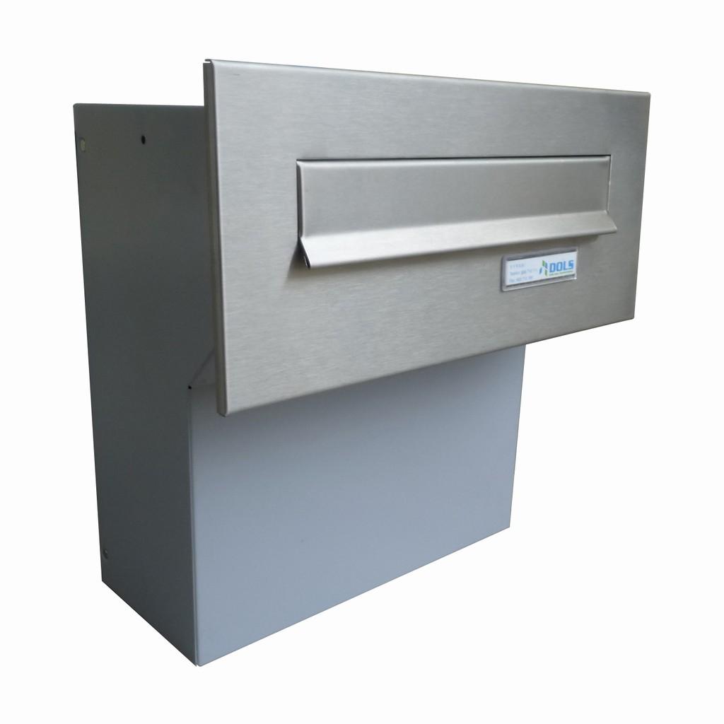 Poštovní schránka nerez do sloupku F 04