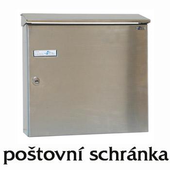Poštovní schránka nerez A 05