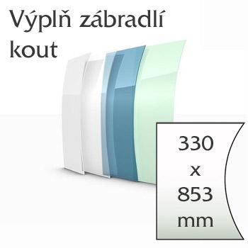 Balkónové zábradlí Lightline - vnitřní roh výplně