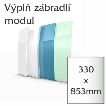 Balkónové zábradlí Lightline - modul výplně