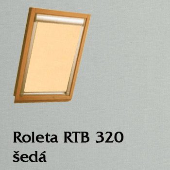 Zatemňující roleta Kubeso RTB 320