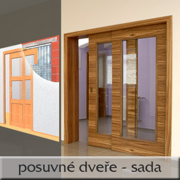 Dveře do pouzdra 145/197 set