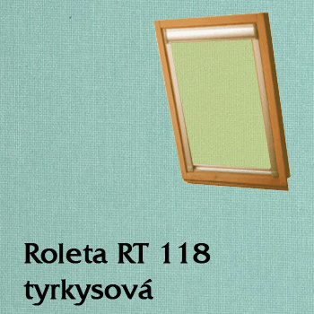Zastiňovací roleta RT 118