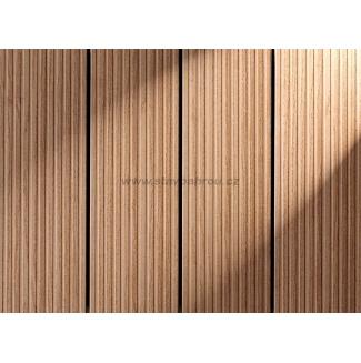 WPC terasa profil MASSIVE světlý dub