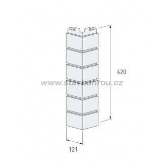 Vnější roh Solid Brick SB103