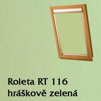 Zastiňovací roleta RT 116