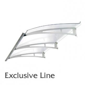 Vchodová stříška Polymer, Exclusive Line 1400x900mm