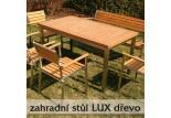 Zahradní stůl Lux dřevo 1800mm