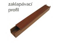 PVC zakrývací profil