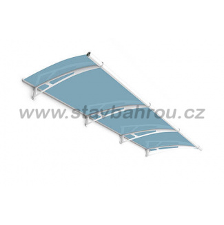 Vchodová stříška Polymer, Lightline L 2700 x 950 mm markýza