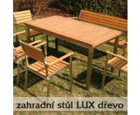 Zahradní stůl Lux dřevo 1500mm