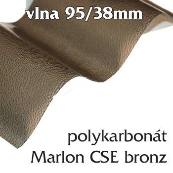 Vlnitá deska Marlon CSE 95/38 bronz
