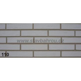 Cihelný obkladový pásek  IZOFLEX, č.110 šedý