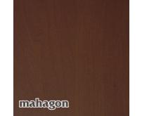 Vnitřní dřevotřískový okenní parapet TOPSET - mahagon