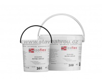 Lepící tmel IZOFLEX, č. 201 světle šedý 5kg