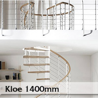 Točité schody Kloe 1400mm