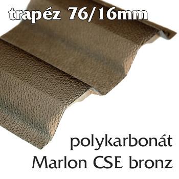 Polykarbonátová deska Marlon CSE 76/16 bronz