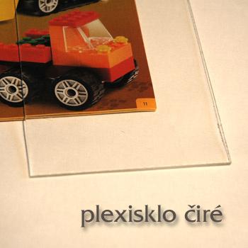 Plexisklo tl. 6 mm čiré