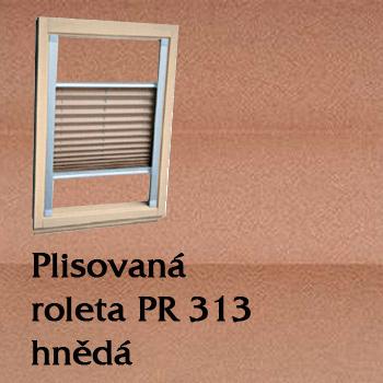 Plisovaná roleta PR 313