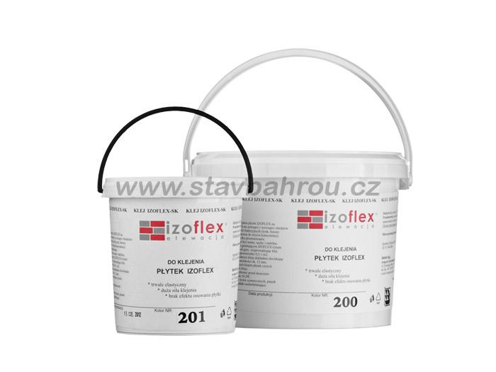 Lepící tmel IZOFLEX, č. 201 světle šedý 9kg