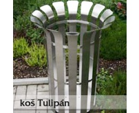 Odpadkový koš Tulipán