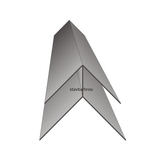 Vnější rohový profil ASA