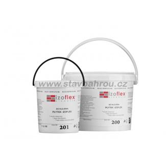 Lepící tmel IZOFLEX, č. 202 šedý 9kg