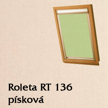 Zastiňovací roleta RT 136
